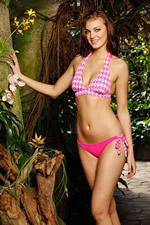 haute pink bikini