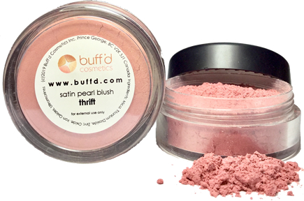 satin pearl blush